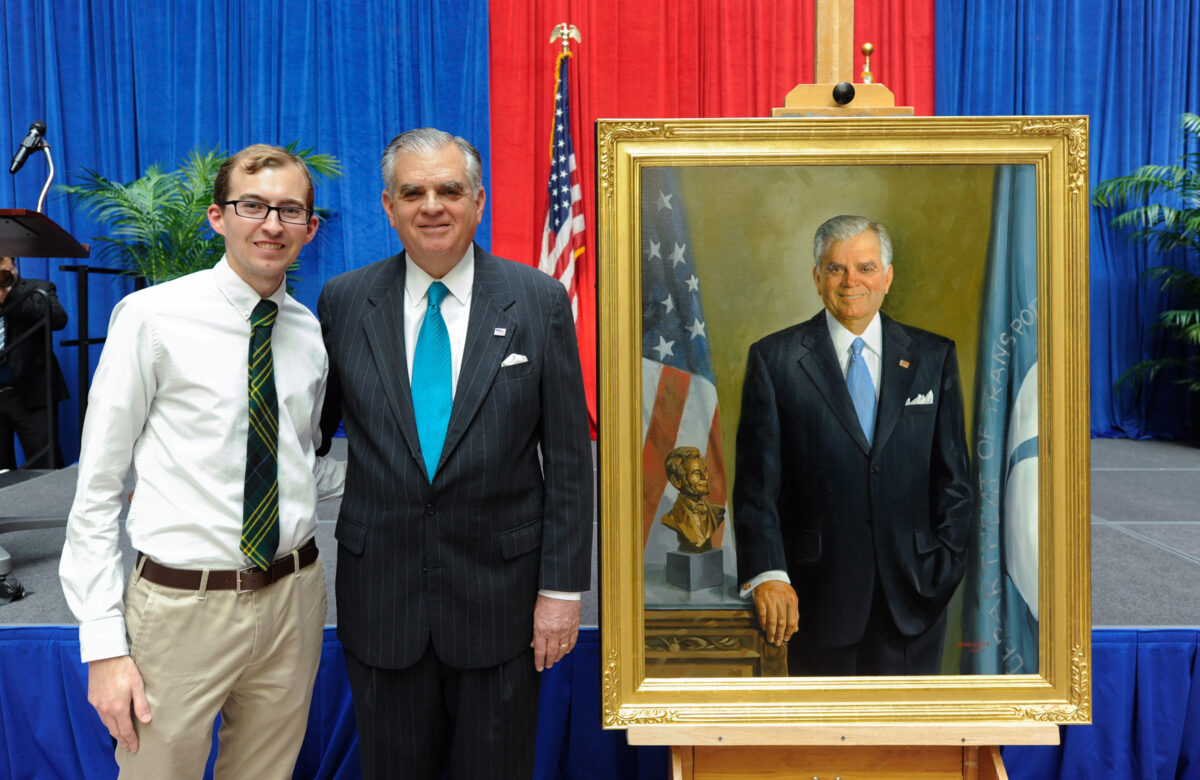 Photo with Ray LaHood