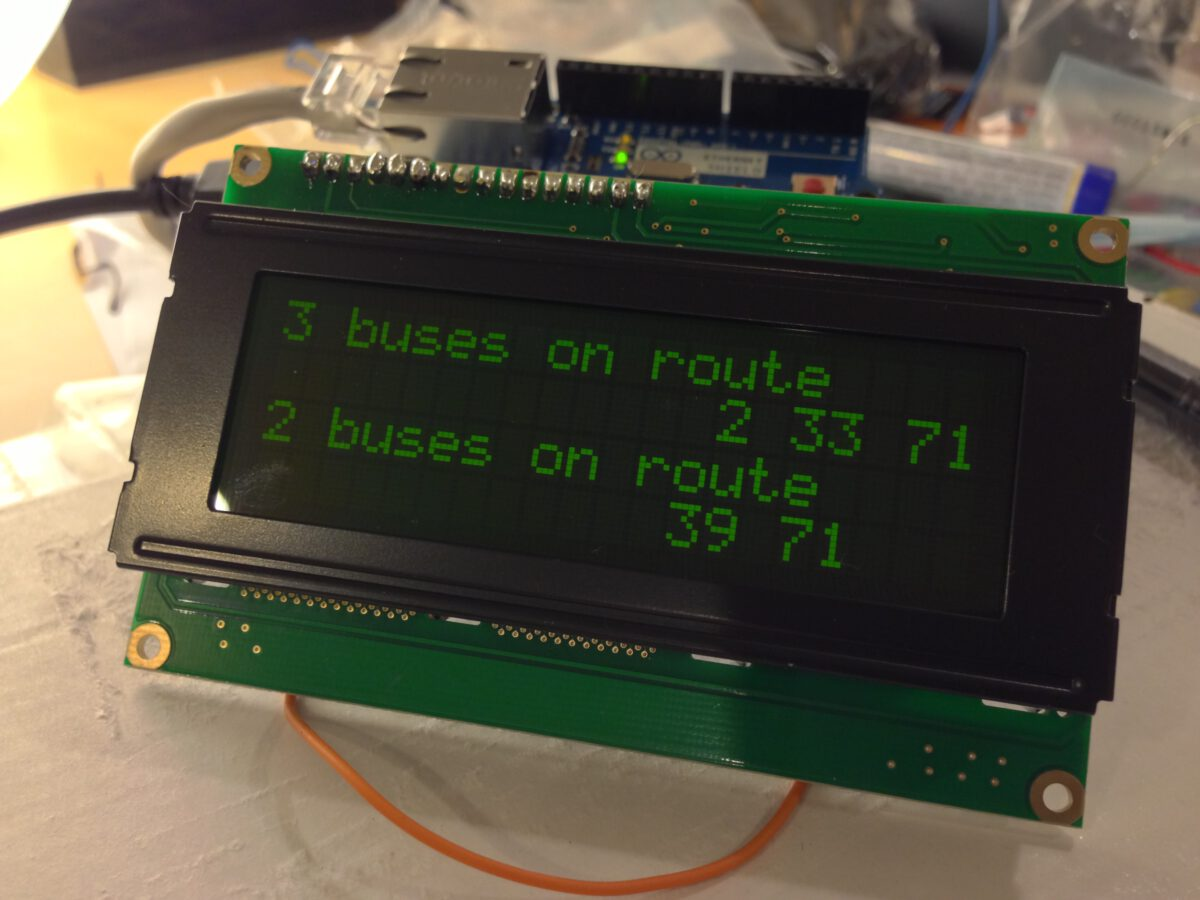 Arduino bus project