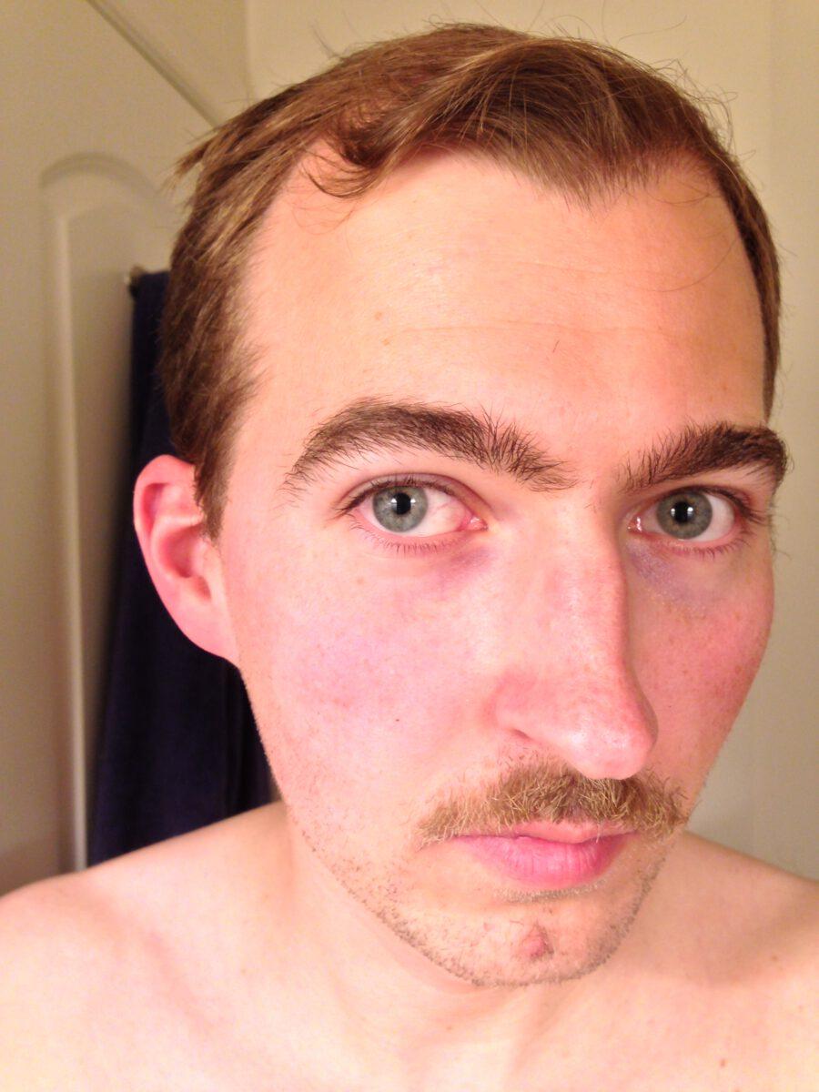 After playoff beard - mustache