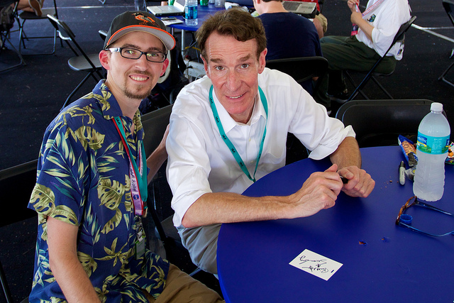 Me with Bill Nye the Science Guy