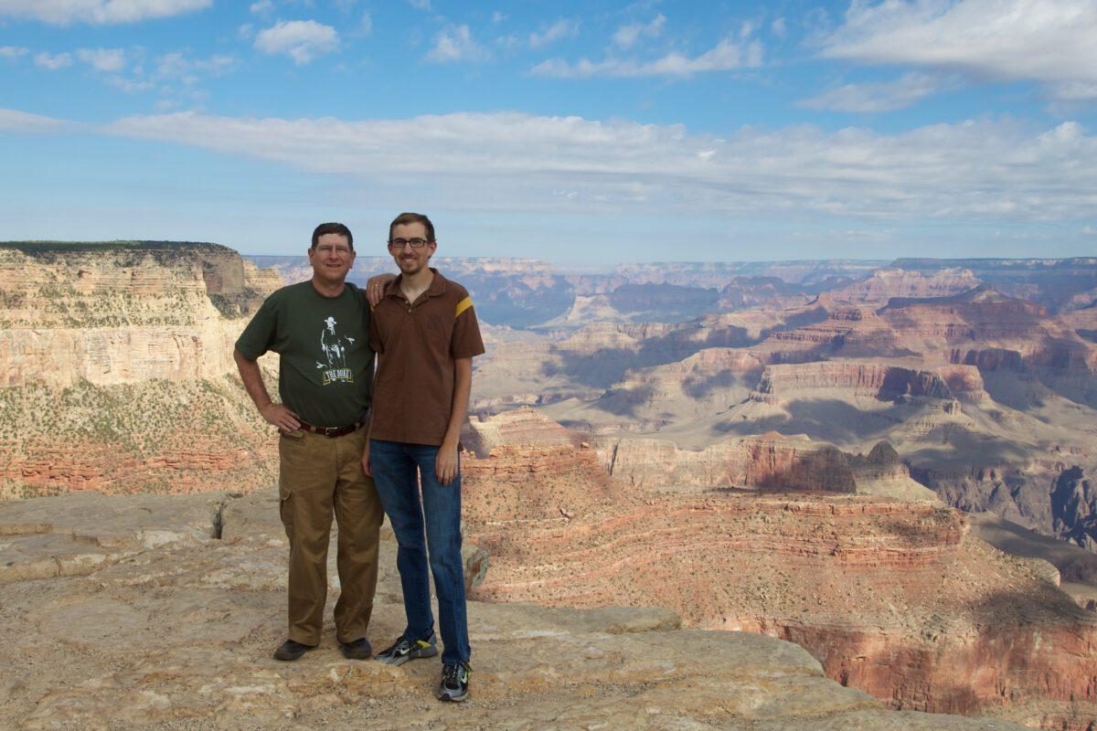 Dad & I at the Grand Canyon