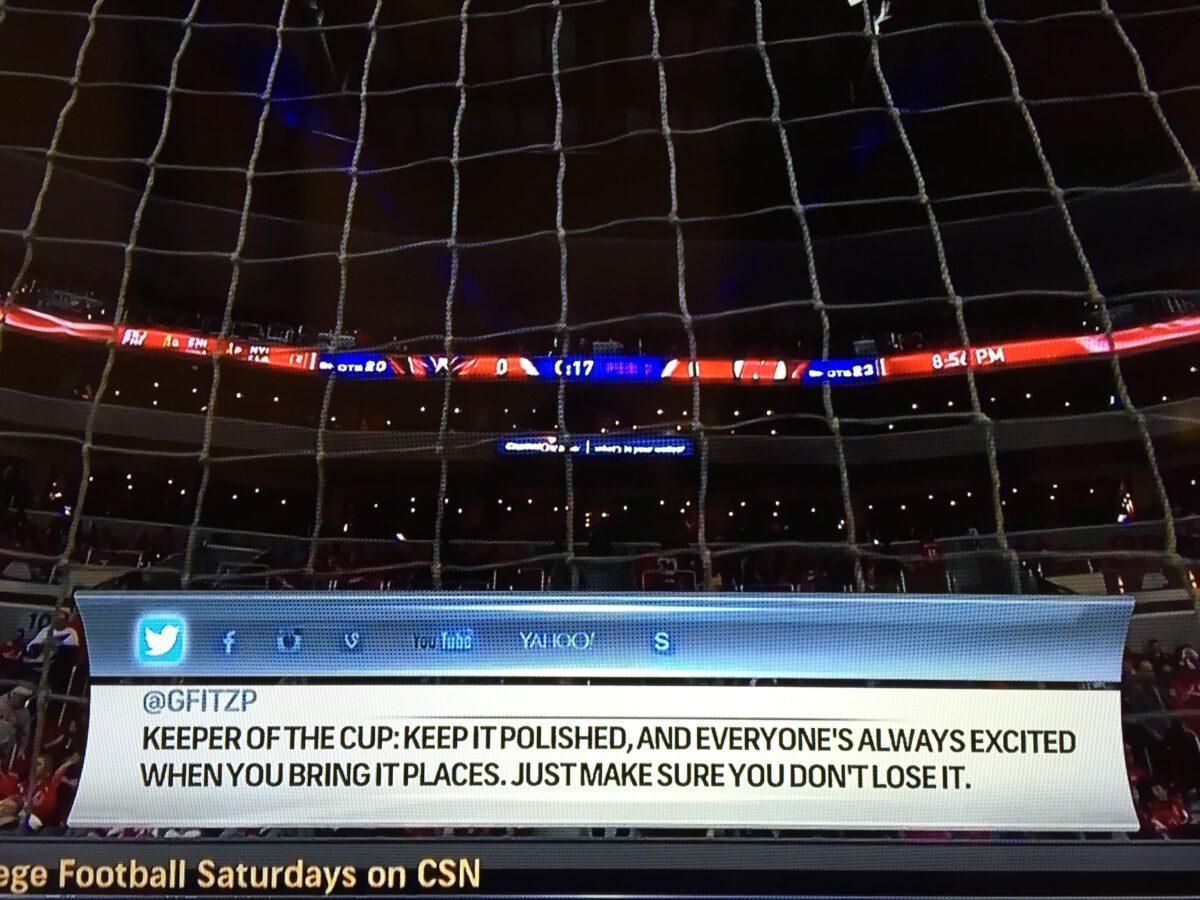 #CapitalsTalk NHL job screenshot